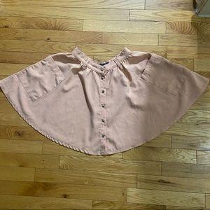 💥5/$25 Costa Blanca button up skater skirt